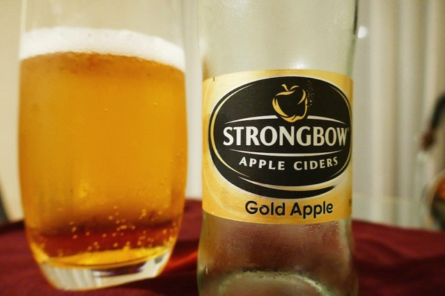 strongbow gold apple2