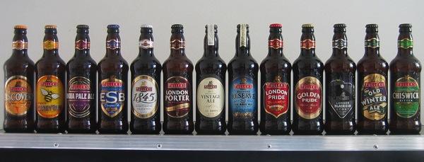 Fullers bottles