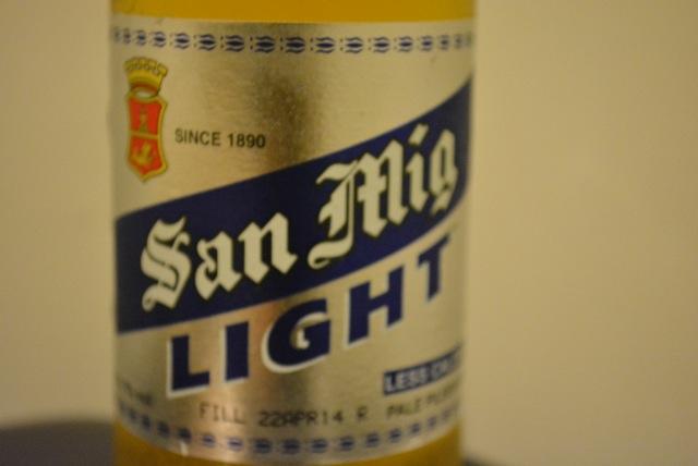San miguel light