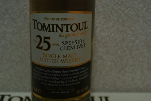 tomintoul-25years
