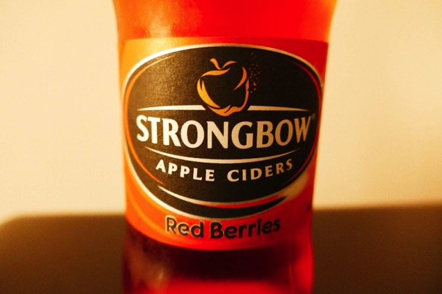 strongbow redberries