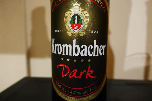 krombacher dark