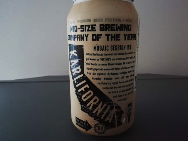 Karl Strauss Mosaic session ipa2