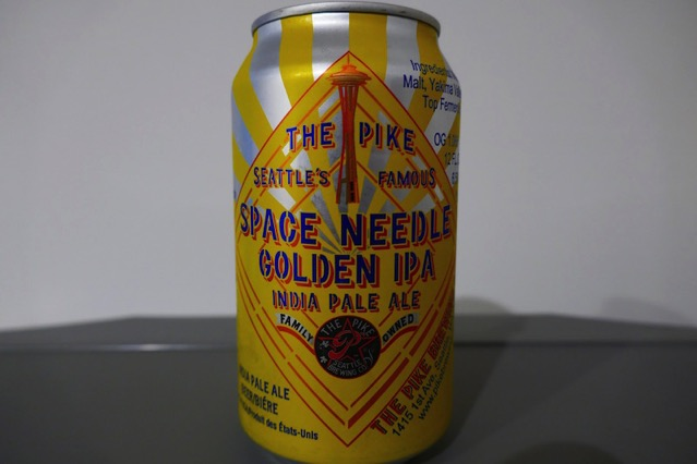 Space Needle golden ipa