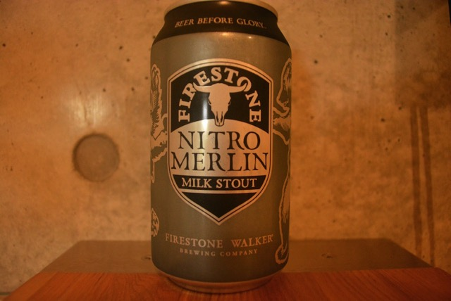 Nitro Merlin milk stout