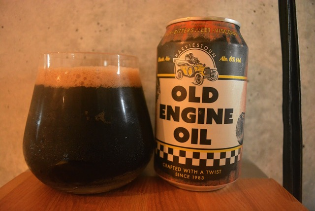 Harviestoun Old Engin Oil Dark Ale2