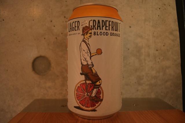 T.W. Pitchers' Brewing Radlar Lager & Grapefruit