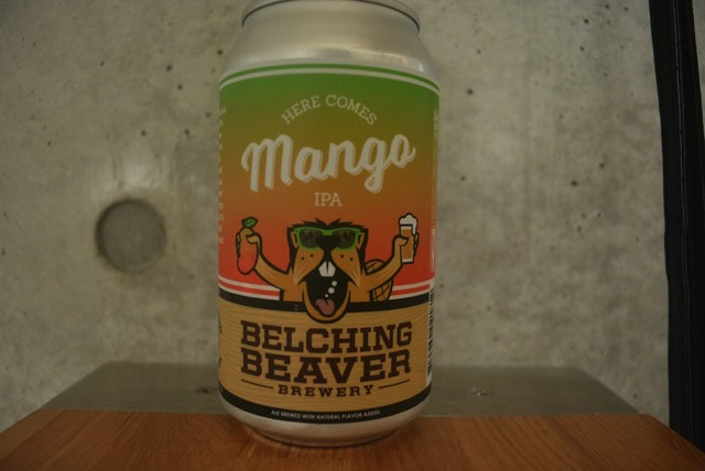 Belching beaver mango ipa