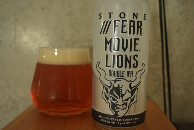 Fear movie lions double IPA