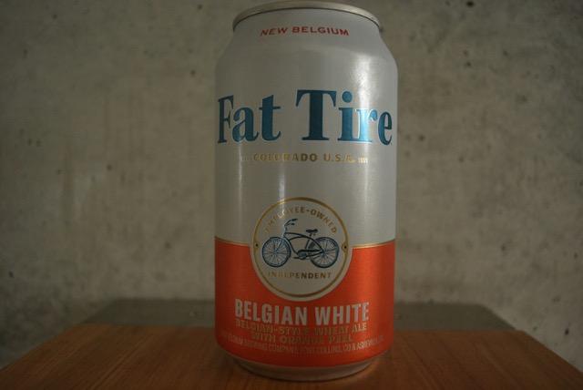 new belgim fat tire belgian white