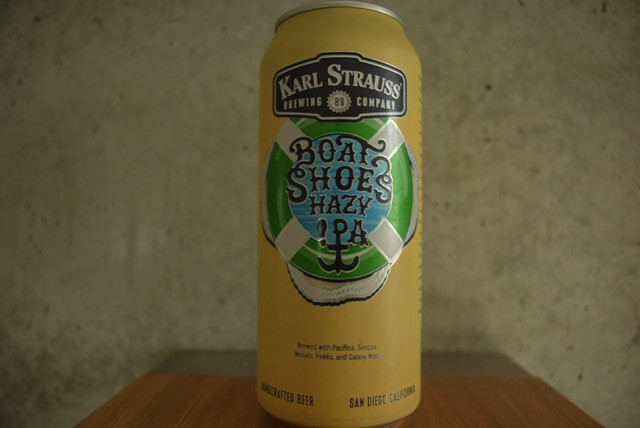 karl strauss boat shoe hazy ipa