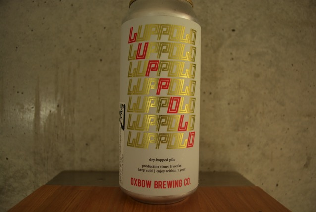 oxbow brewing dryhop pils